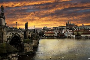 Prague on the Vltava River