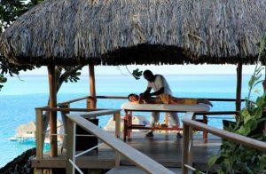 Hilton Bora Bora Nui Resort and spa massage