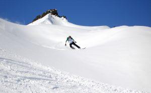 freeride snowboarden