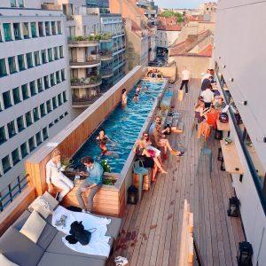 rooftop bar Jam