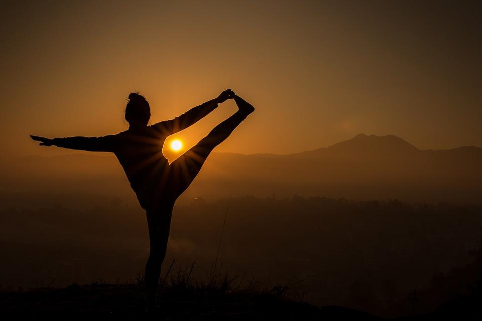 Yoga op Poon Hill