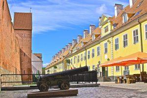 Jekaba Kazarmas in Riga