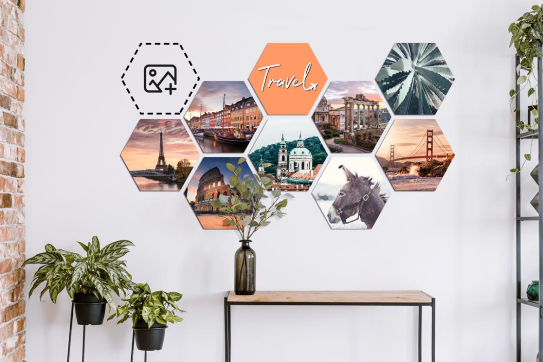 Van een unieke hexagon foto wanddecoratie tot een wonderbaarlijke deurposter